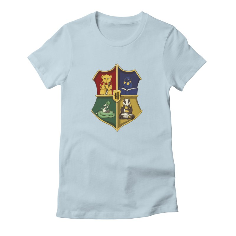Magical Crest Women's Fitted T-Shirt by Stuff, By Alan Bao