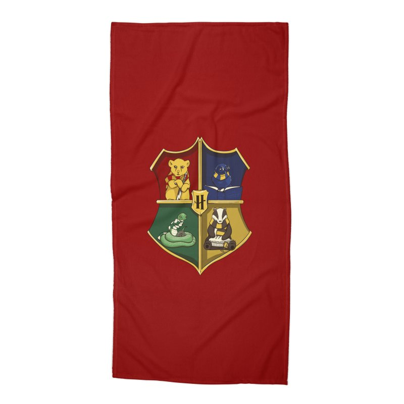 Magical Crest Accessories Beach Towel by Stuff, By Alan Bao