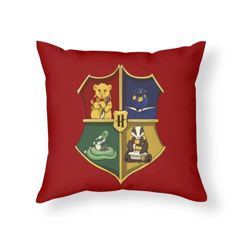 Magical Crest Home Throw Pillow by Stuff, By Alan Bao