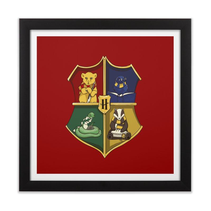 Magical Crest Home Framed Fine Art Print by Stuff, By Alan Bao