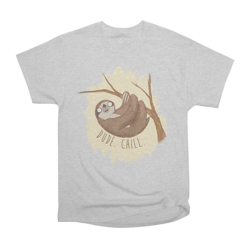 Dude, Chill Men's Classic T-Shirt by Stuff, By Alan Bao