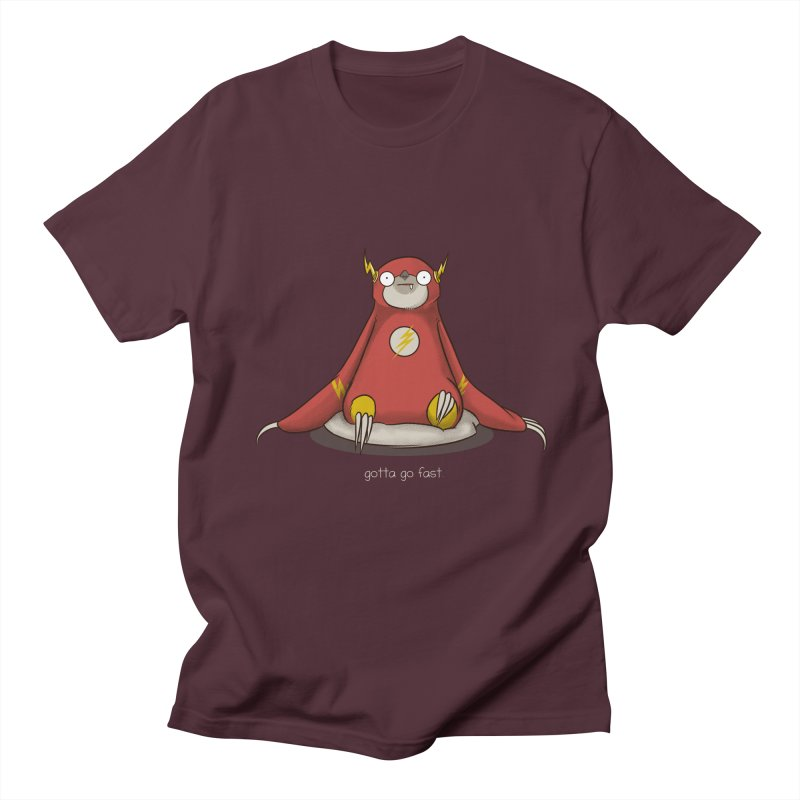 Fast Sloth Men's T-shirt by Stuff, By Alan Bao