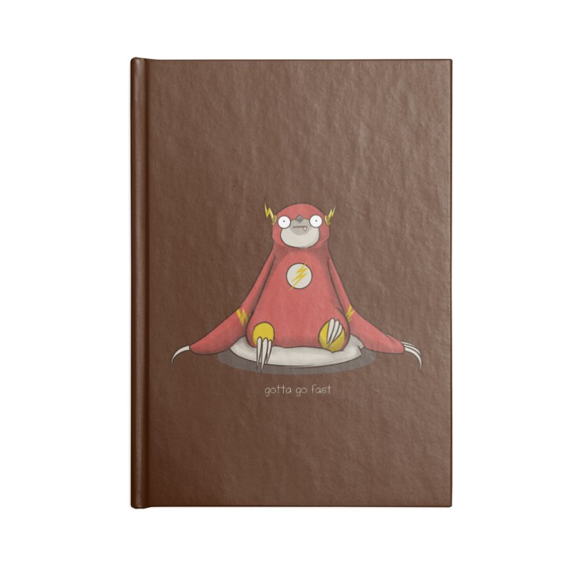 Fast Sloth Accessories Notebook by Stuff, By Alan Bao