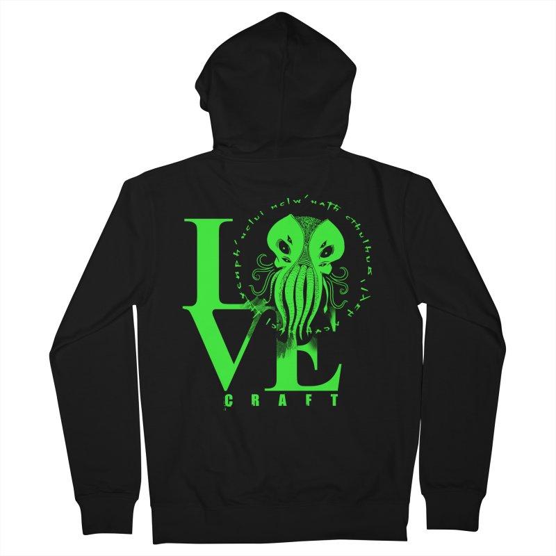 Love Lovecraft Men's Zip-Up Hoody by Stuff, By Alan Bao
