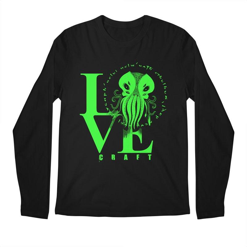 Love Lovecraft Men's Longsleeve T-Shirt by Stuff, By Alan Bao