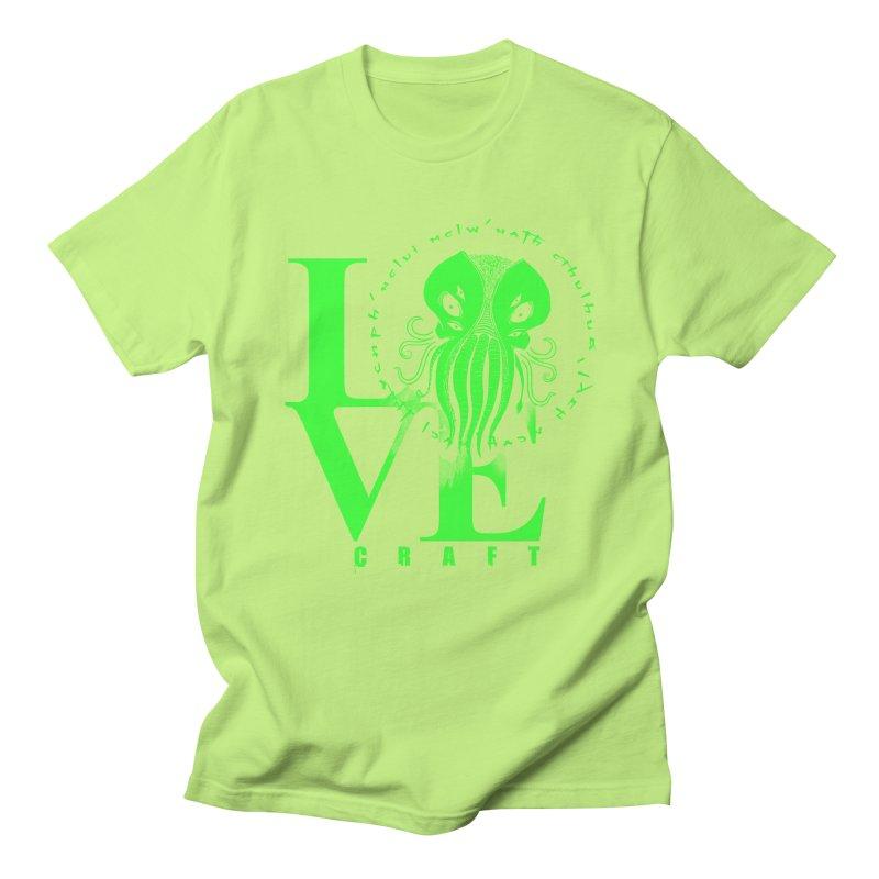 Love Lovecraft Women's Unisex T-Shirt by Stuff, By Alan Bao