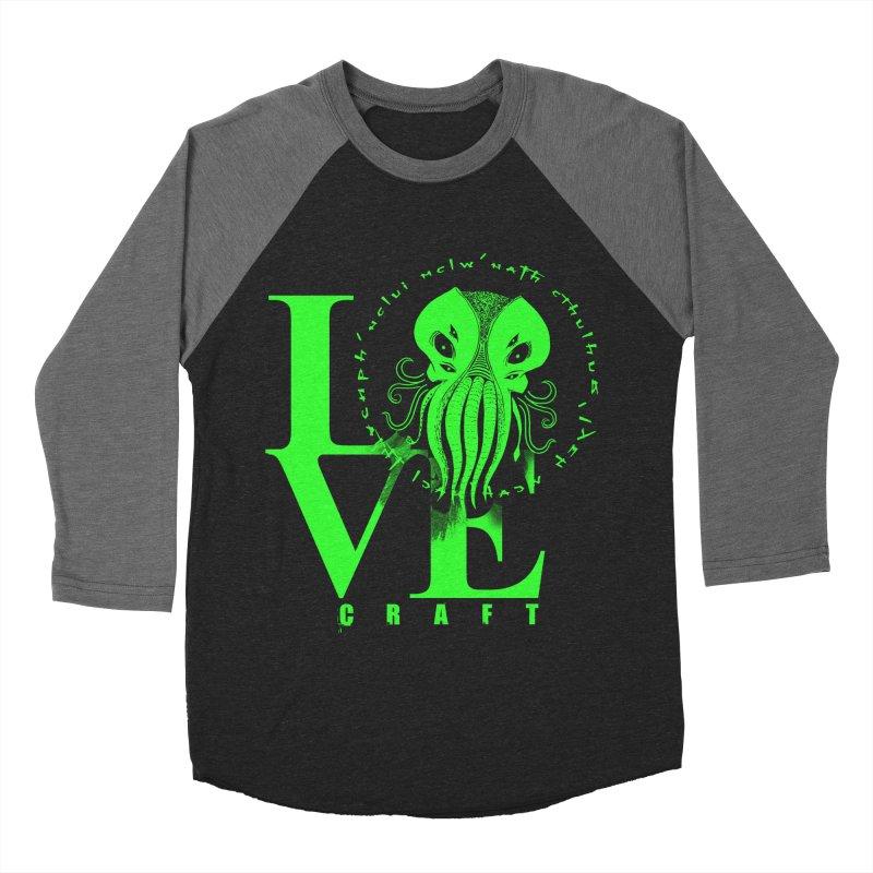 Love Lovecraft Men's Baseball Triblend T-Shirt by Stuff, By Alan Bao