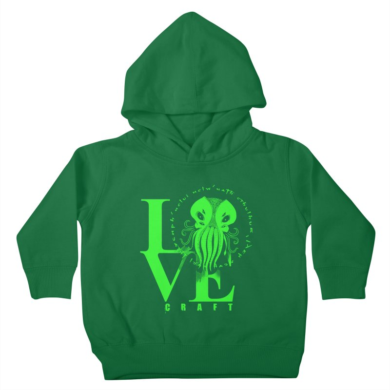 Love Lovecraft Kids Toddler Pullover Hoody by Stuff, By Alan Bao