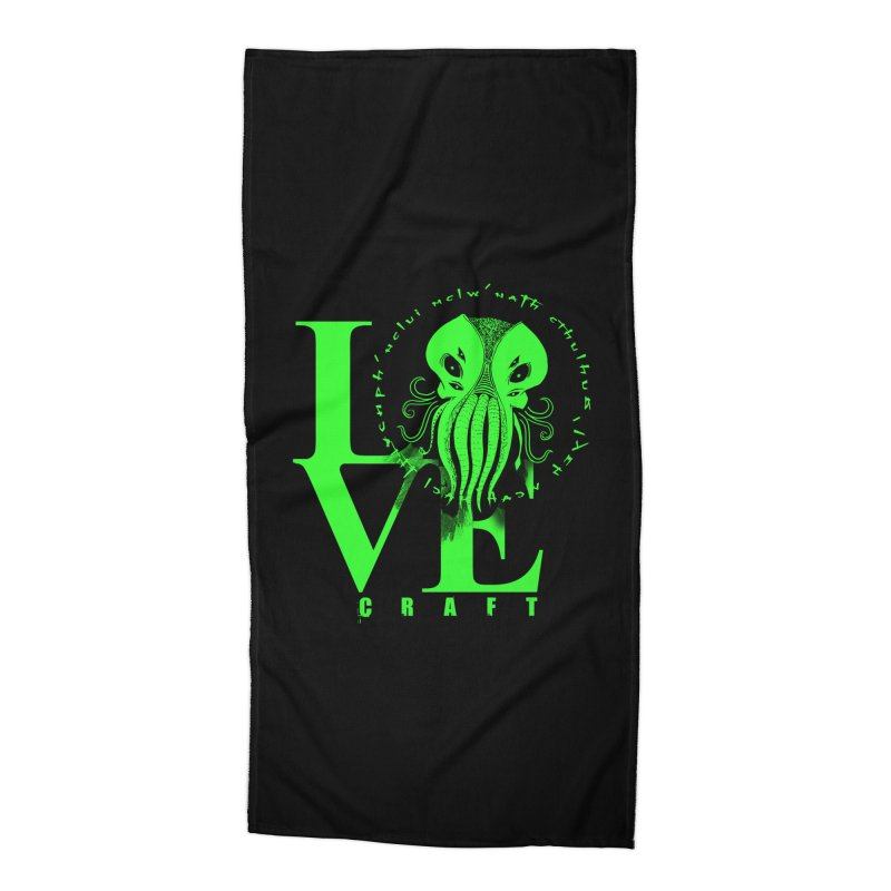 Love Lovecraft Accessories Beach Towel by Stuff, By Alan Bao