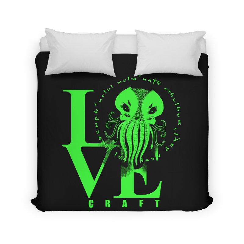 Love Lovecraft Home Duvet by Stuff, By Alan Bao