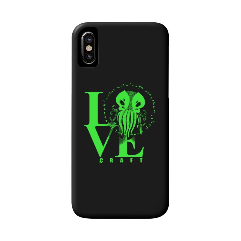 Love Lovecraft Accessories Phone Case by Stuff, By Alan Bao