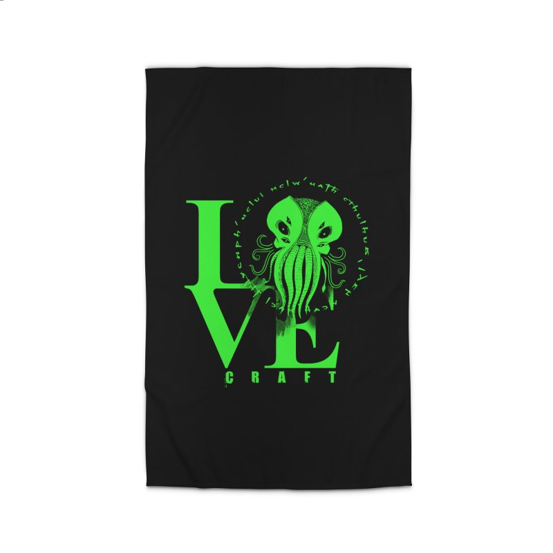 Love Lovecraft Home Rug by Stuff, By Alan Bao