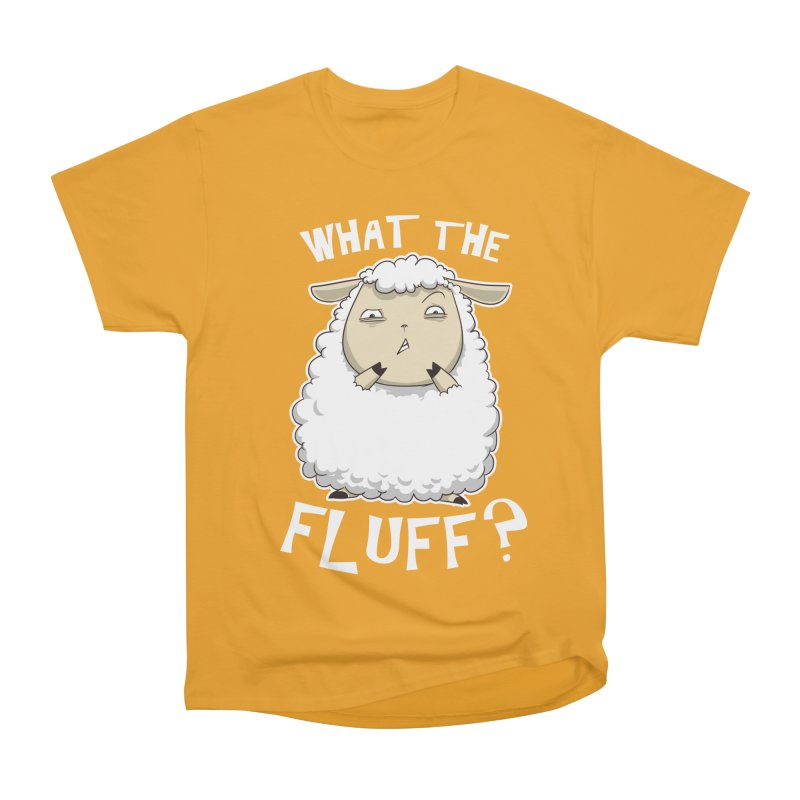 What the Fluff? Men's Classic T-Shirt by Stuff, By Alan Bao