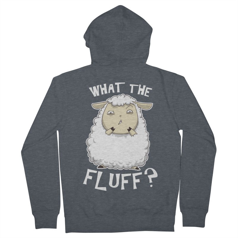 What the Fluff? Women's Zip-Up Hoody by Stuff, By Alan Bao