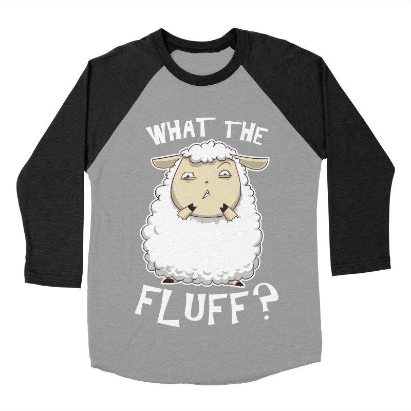 What the Fluff? Women's Baseball Triblend T-Shirt by Stuff, By Alan Bao