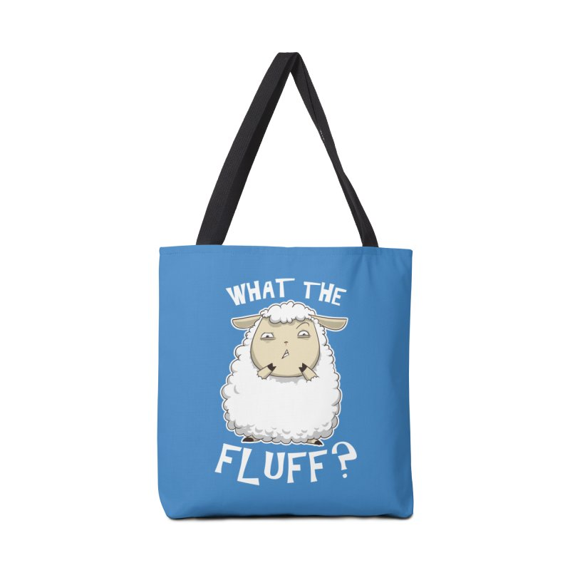 What the Fluff? Accessories Bag by Stuff, By Alan Bao