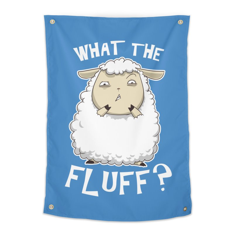 What the Fluff? Home Tapestry by Stuff, By Alan Bao