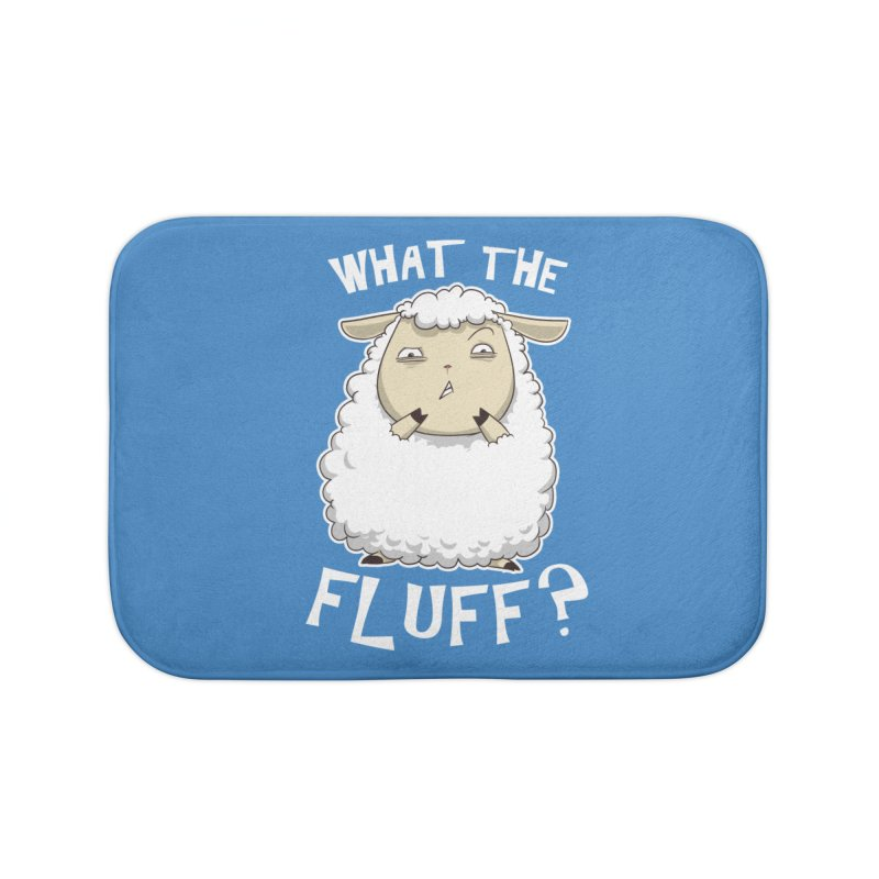 What the Fluff? Home Bath Mat by Stuff, By Alan Bao