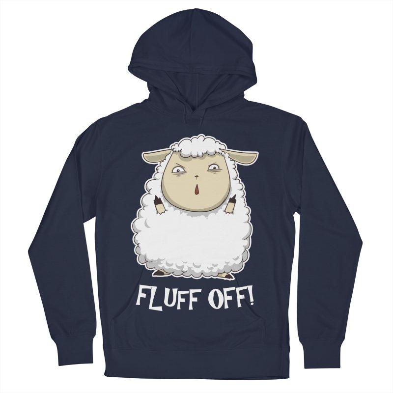 Fluff Off! Women's Pullover Hoody by Stuff, By Alan Bao