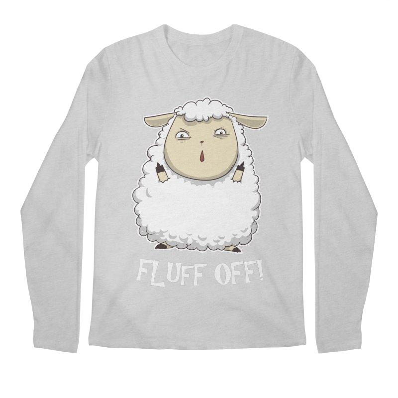 Fluff Off! Men's Longsleeve T-Shirt by Stuff, By Alan Bao