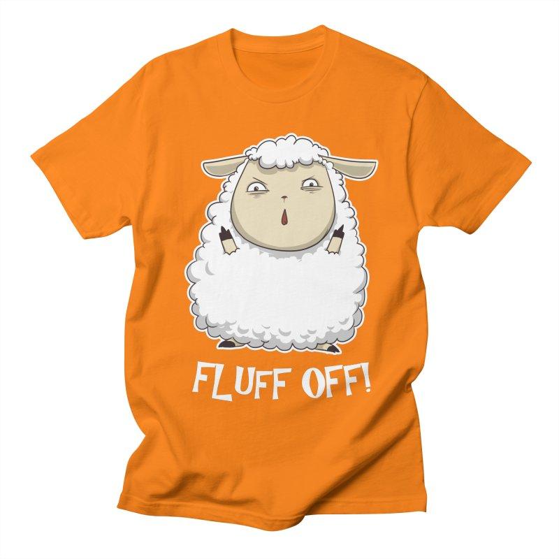 Fluff Off! Men's T-Shirt by Stuff, By Alan Bao