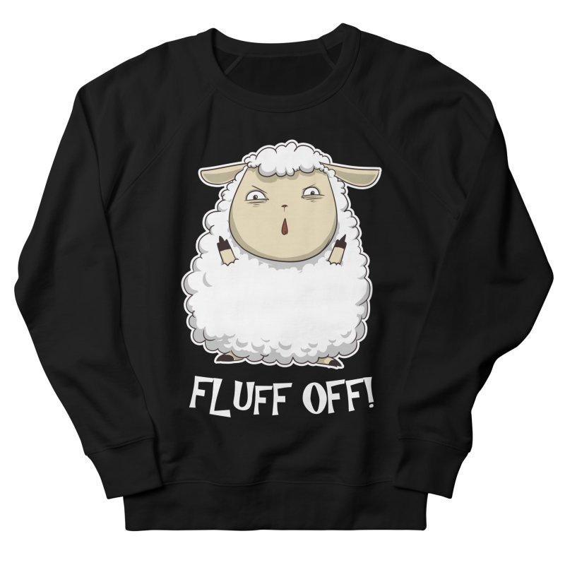 Fluff Off! Women's Sweatshirt by Stuff, By Alan Bao