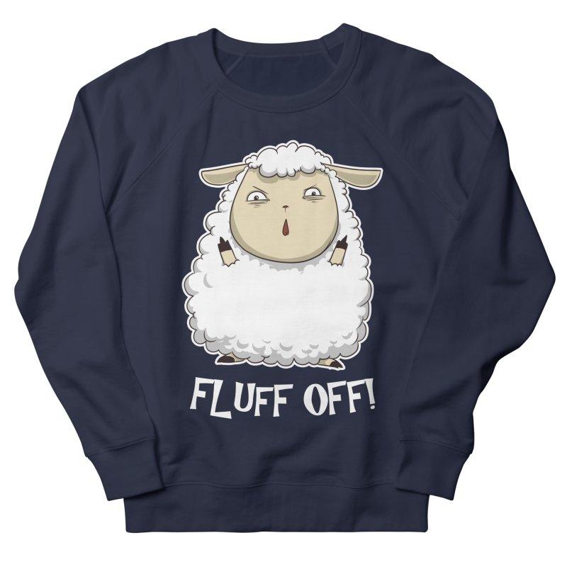 Fluff Off! Men's Sweatshirt by Stuff, By Alan Bao