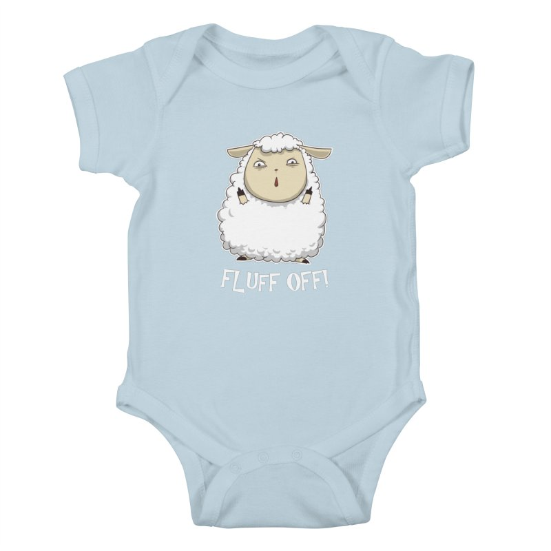 Fluff Off! Kids Baby Bodysuit by Stuff, By Alan Bao