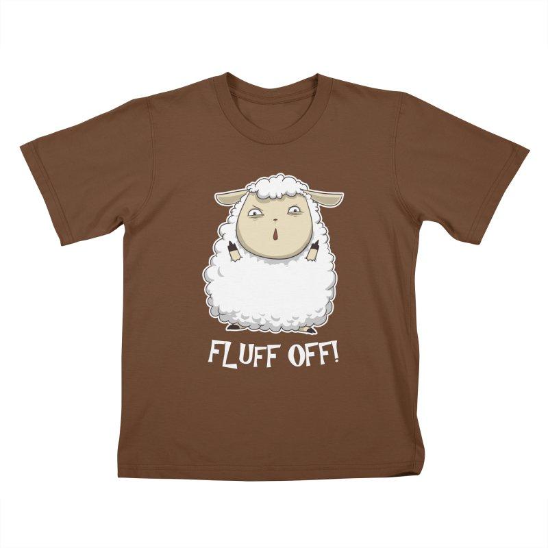 Fluff Off! Kids T-shirt by Stuff, By Alan Bao