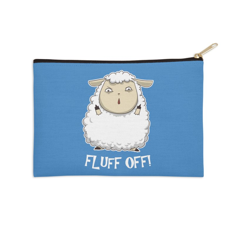 Fluff Off! Accessories Zip Pouch by Stuff, By Alan Bao
