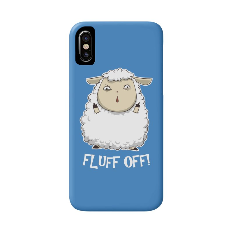 Fluff Off! Accessories Phone Case by Stuff, By Alan Bao