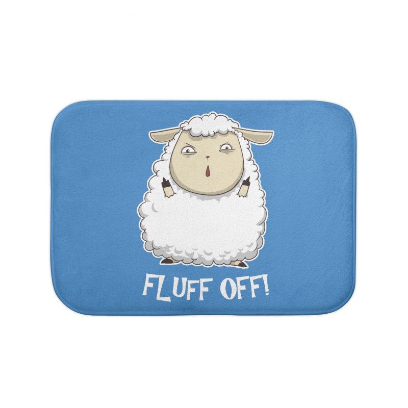 Fluff Off! Home Bath Mat by Stuff, By Alan Bao