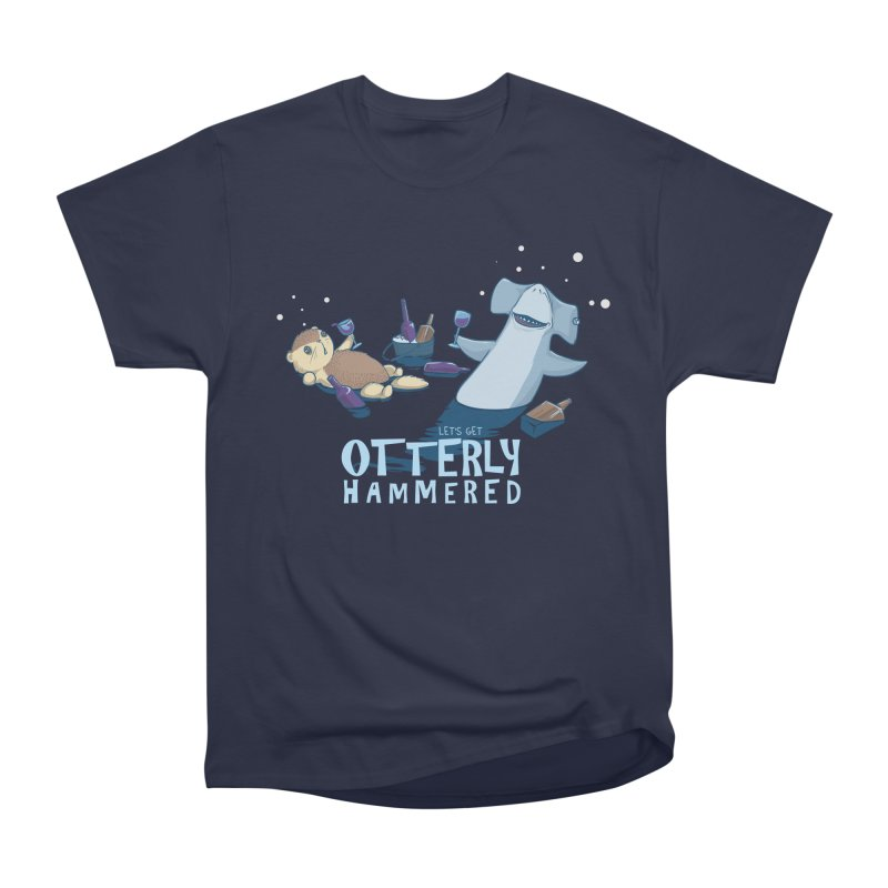 Otterly Hammered Women's Heavyweight Unisex T-Shirt by Stuff, By Alan Bao