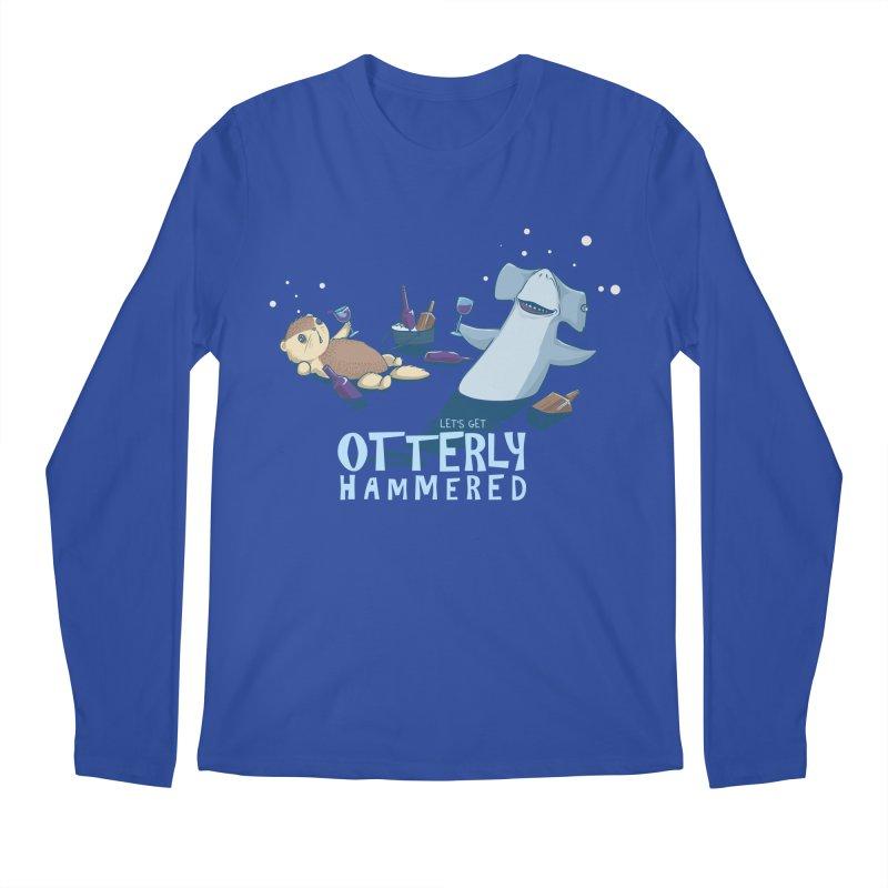 Otterly Hammered Men's Longsleeve T-Shirt by Stuff, By Alan Bao