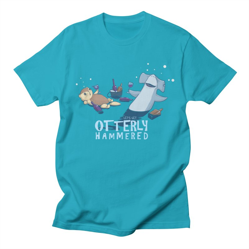 Otterly Hammered Women's Unisex T-Shirt by Stuff, By Alan Bao