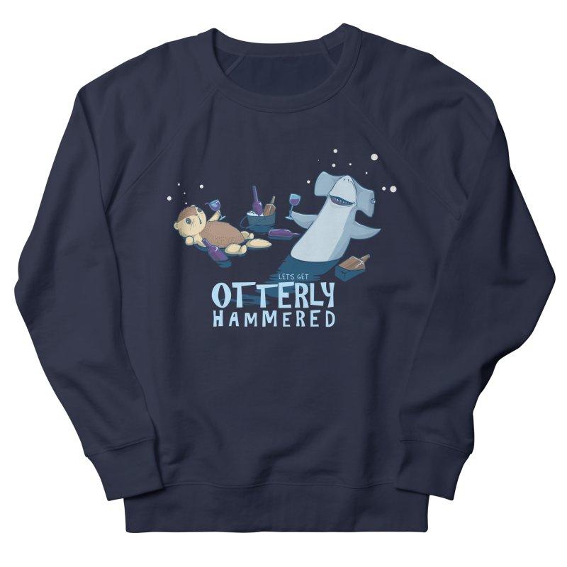 Otterly Hammered Women's Sweatshirt by Stuff, By Alan Bao