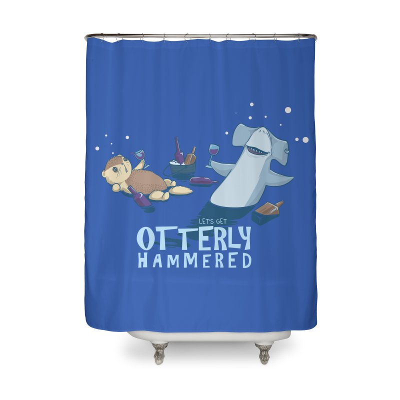 Otterly Hammered Home Shower Curtain by Stuff, By Alan Bao