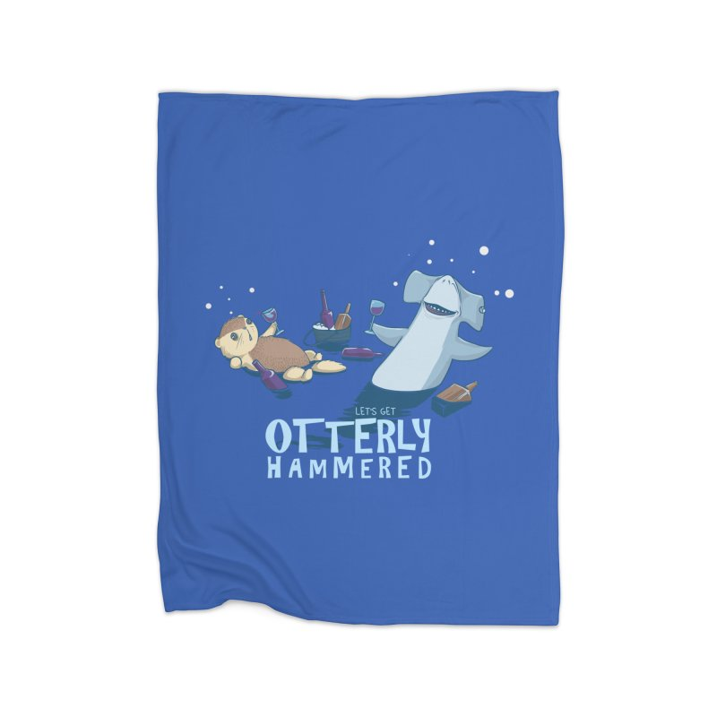 Otterly Hammered Home Blanket by Stuff, By Alan Bao