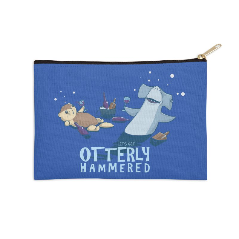 Otterly Hammered Accessories Zip Pouch by Stuff, By Alan Bao