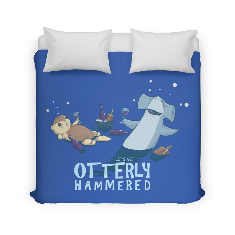 Otterly Hammered Home Duvet by Stuff, By Alan Bao