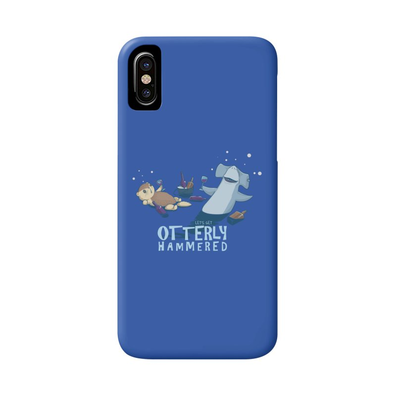 Otterly Hammered Accessories Phone Case by Stuff, By Alan Bao