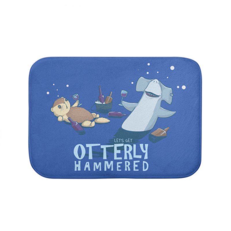 Otterly Hammered Home Bath Mat by Stuff, By Alan Bao