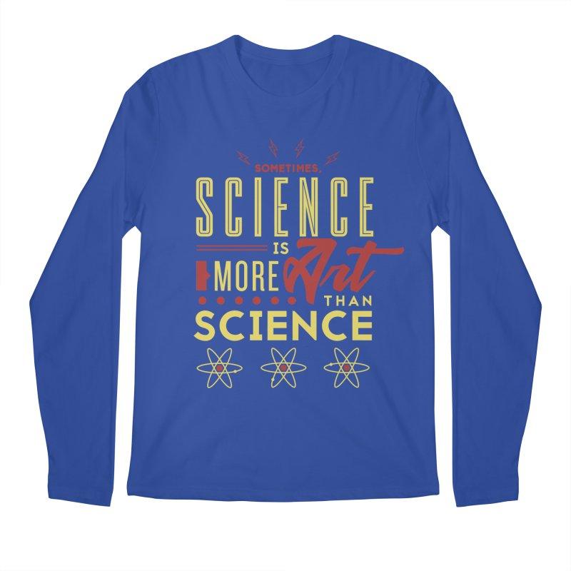 Sometimes, Science Is More Art Than Science Men's Longsleeve T-Shirt by Stuff, By Alan Bao