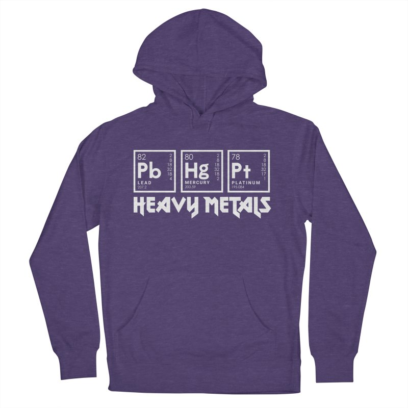 Heavy Metals Women's Pullover Hoody by Stuff, By Alan Bao