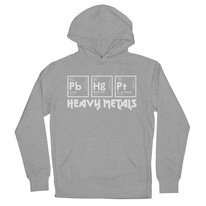 Heavy Metals Women's Pullover Hoody by Stuff, By Alan Bao