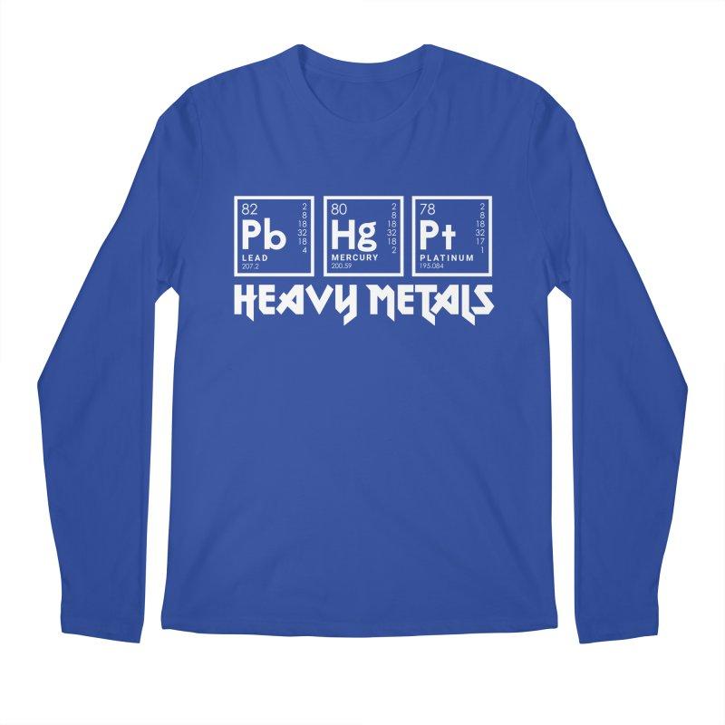 Heavy Metals Men's Longsleeve T-Shirt by Stuff, By Alan Bao