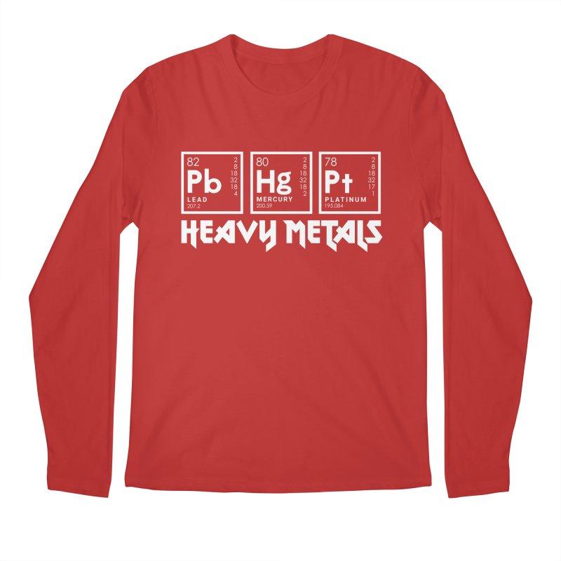 Heavy Metals Men's Regular Longsleeve T-Shirt by Stuff, By Alan Bao