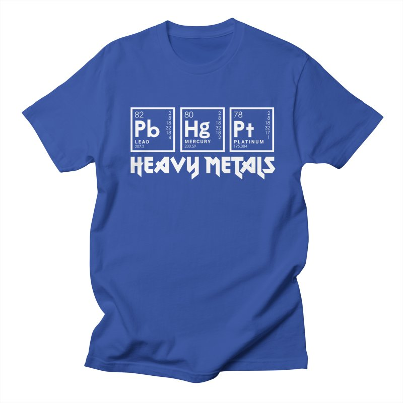 Heavy Metals Women's Unisex T-Shirt by Stuff, By Alan Bao