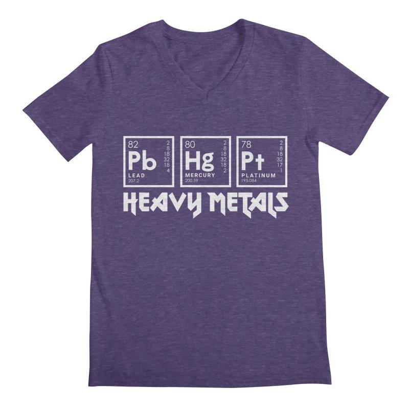 Heavy Metals Men's V-Neck by Stuff, By Alan Bao