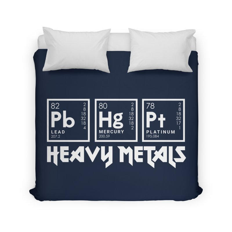 Heavy Metals Home Duvet by Stuff, By Alan Bao